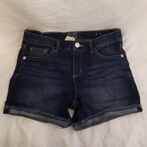 Justice Girl's Denim Jean Short Size 14Plus